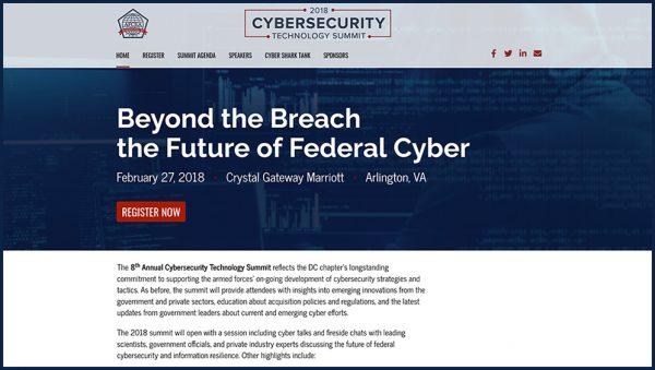 AFCEA 2018 Cyber Security Summit