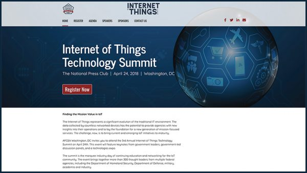 AFCEA Internet of Things Summit 2018