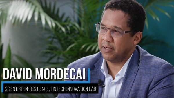 David K.A. Mordecai, Scientist-in-Residence, FinTech Innovation Lab